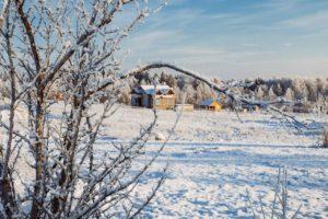 Покупка участка зимой